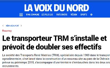 TRANSPORTS MADRIAS ROUVROY - TRM